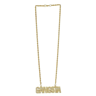 Collier Gangsta doré