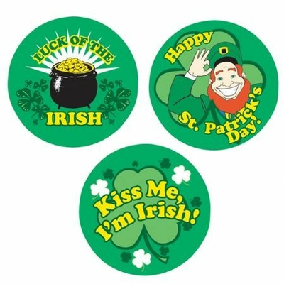3 Badges St Patrick