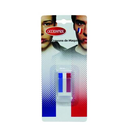 Maquillage tricolore