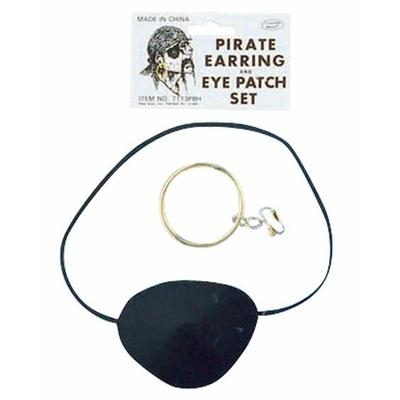 Kit de Pirate Boucle Et Oeil