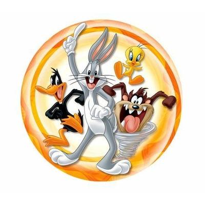 10 Assiettes (18Cm) - Looney Tunes©