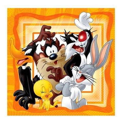 20 Serviettes (33X33 Cm) (2 Plis) - Looney Tunes©