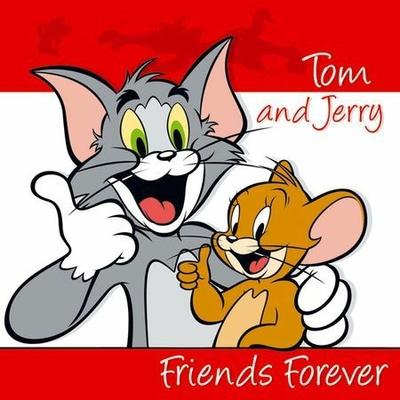 20 Serviettes 33Cmx33Cm - Looney Tunes© Tom Et Jerry
