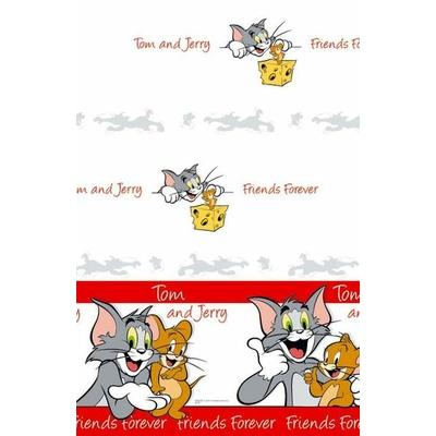 1 Nappe Papier - Pliée (120Cm X180Cm) - Looney Tunes© Tom Et Jerry