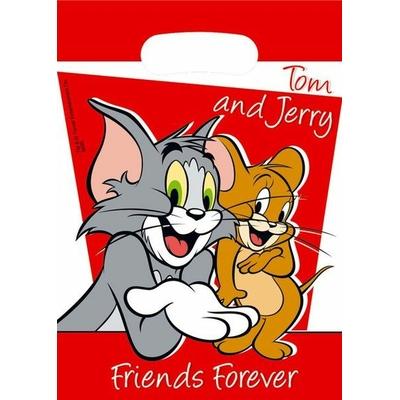 6 Sachets Cadeaux- Looney Tunes© Tom Et Jerry
