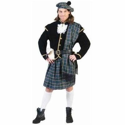 Déguisement d'Écossais