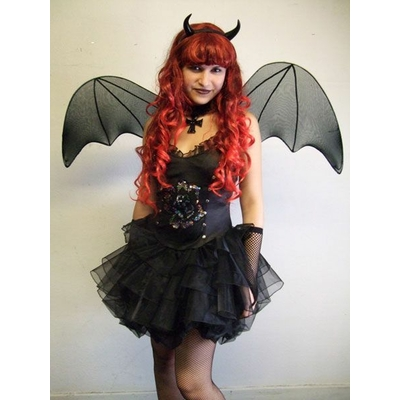 Costume de Diablesse Gothique Noire
