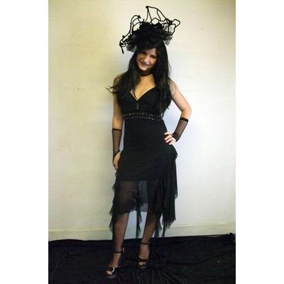 Costume Robe Veuve Noire