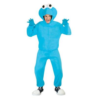 Déguisement monstre bleu