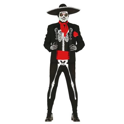 Déguisement squelette mexicain