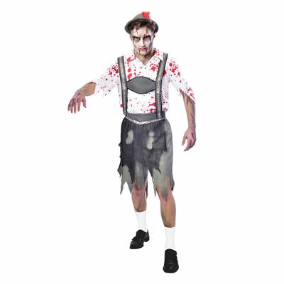 Déguisement bavarois zombie