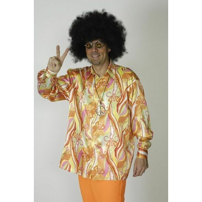 Chemise Hippie Orange