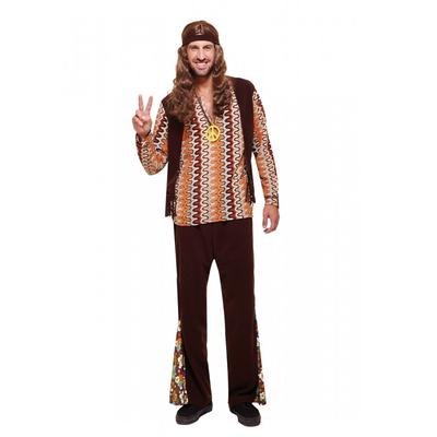 Déguisement hippie homme vintage