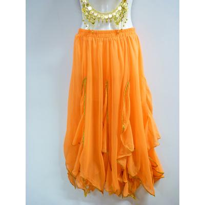 Jupe Bollywood orange