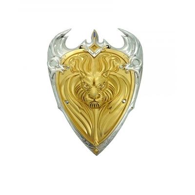 Bouclier en latex lion d'or