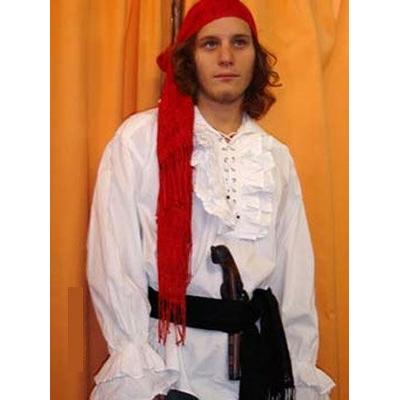 Chemise à Jabot de Pirate