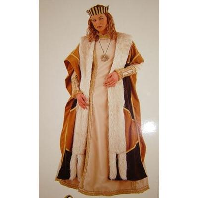 Déguisement Reine Moyen Âge Femme