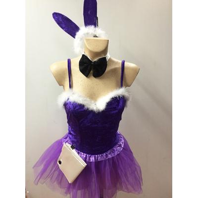 Déguisement bunny violette
