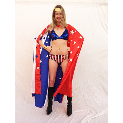 Costume Wonder woman USA (sans la cape )