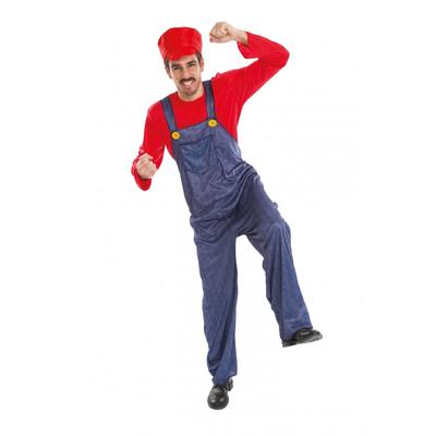Déguisement plombier Mario