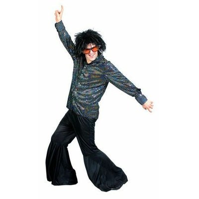 Pantalon Disco Noir