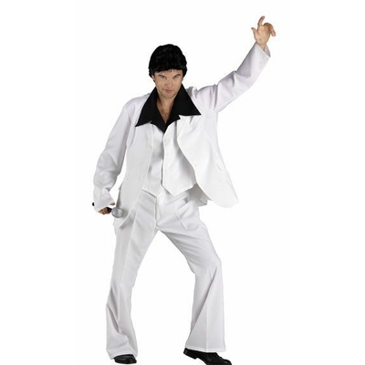 Déguisement Saturday Night Fever Blanc