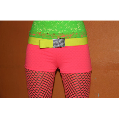 short fluo rose