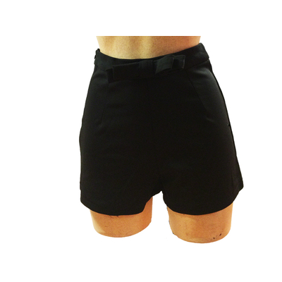 Short pin up lycra noir