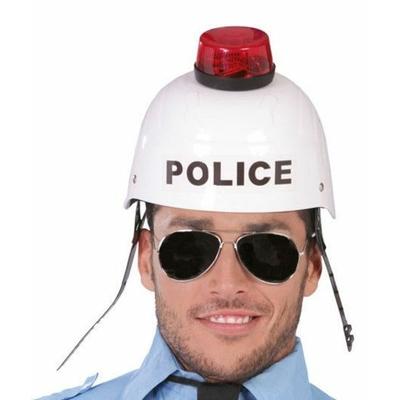Casque de Police Sonore Et Lumineux