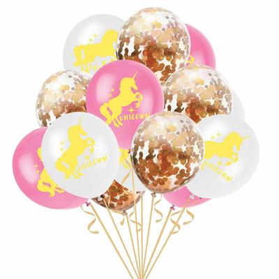 Bouquet de ballons licorne