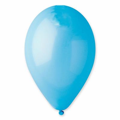 50 Ballons bleu lagon