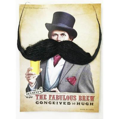 Moustache 1900 noire