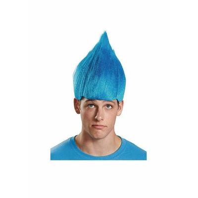 Perruque de Troll ou lutin bleue