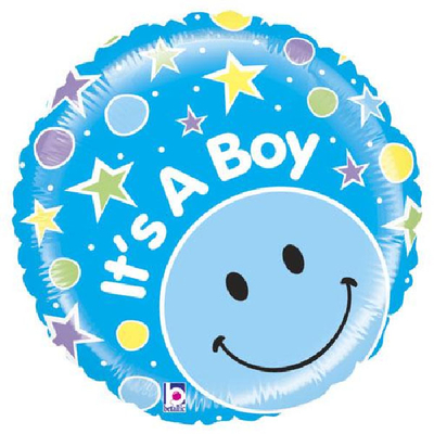 "Ballon bleu "" It's a Boy """