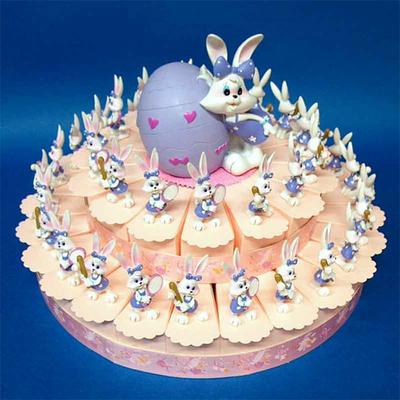 Gâteau à dragées 24 parts Diddl