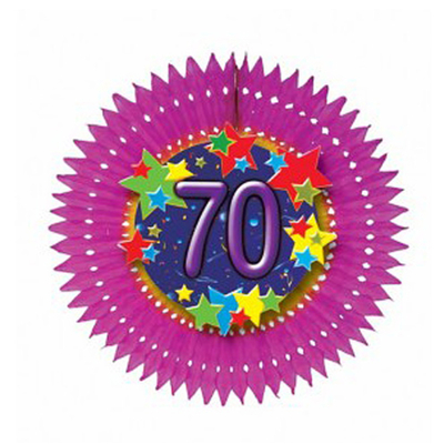 Eventail anniversaire âge 70