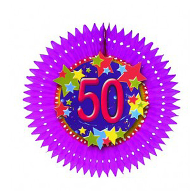 Eventail anniversaire âge 50