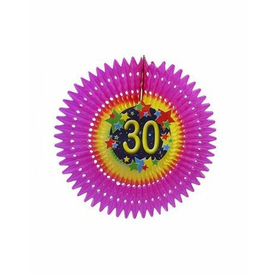 Eventail anniversaire Âge 30
