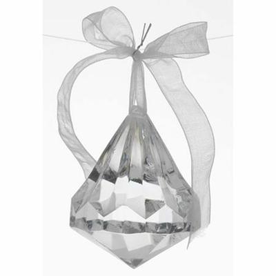 6 Diamants Cristal à Facettes de Décoration
