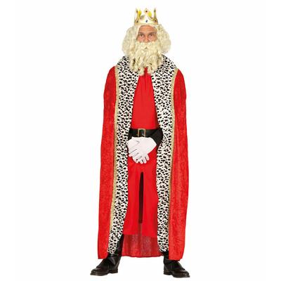 Cape de roi rouge 130 cm