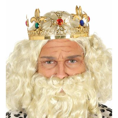 Couronne de roi en métal