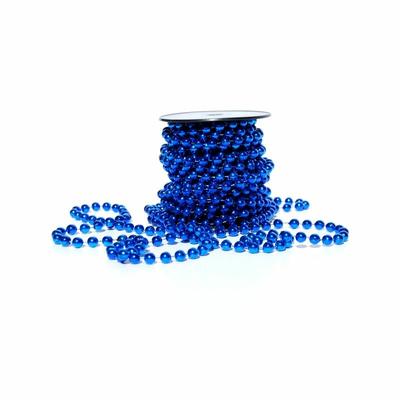 10 mètres perles bleu roy