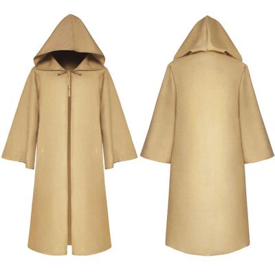 Manteau à capuche de Jedi beige