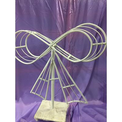 Présentoir à dragées en forme de noeud