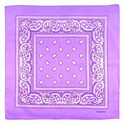 bandana lilas