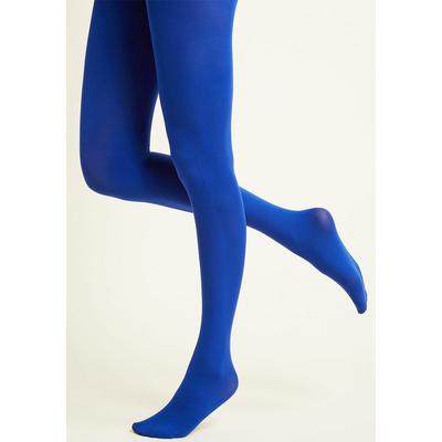 Collants opaques Bleu royal