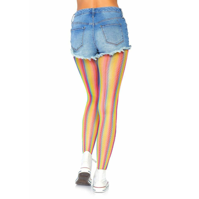 Collants résille Rainbow