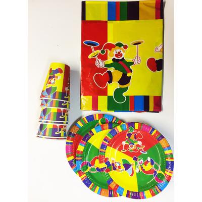 Kit vaisselle jetable Circus