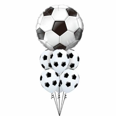 Bouquet de ballons thème football