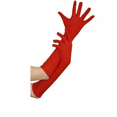 Gants Jersey Rouges 45 Cm